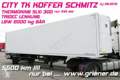 Semirimorchio isotermico Schmitz Cargobull CITY TK KOFFER SCHMITZ 1-achs TK SLXi300 LZG /