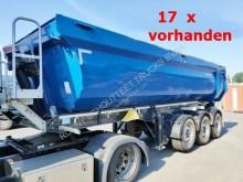 Schwarzmüller tipper semi-trailer 3-Achs Kippauflieger 3-Achs-Kippauflieger, Stahlmulde ca. 24m³, Liftachse, 9x Vorhanden!