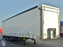 Félpótkocsi Schmitz Cargobull CURTAINSIDER /MEGA/ LIFTED ROOF&AXLE/2017 YEAR használt ponyvával felszerelt plató