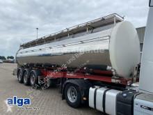 Félpótkocsi Berger SAPL 24 Sata, isoliert, 31m³, 3 Kammern, SAF használt élelmiszerszállító/büfékocsi tartálykocsi