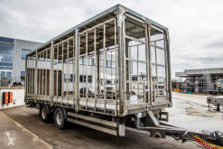Yarı römork Lecitrailer PLATEAU+DHOLLANDIA taban ikinci el araç