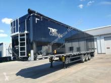 Moving floor semi-trailer TMT Walkingfloor 90m3 SIDE DOORS 10 mm 8380 kg!