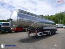 Semirremolque cisterna Magyar Fuel tank inox 38.8 m3 / 8 comp