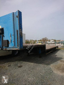 Samro semi-trailer used straw carrier flatbed