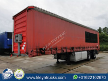 Fruehauf LAST STEERING semi-trailer used tautliner
