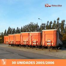 Krone SDP 27 semi-trailer used tarp