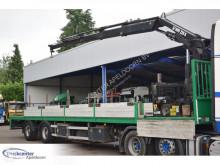 TA 12.10L-10LB, HIAB 220-C semi-trailer used flatbed