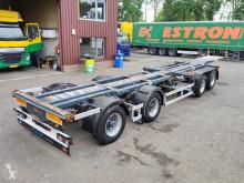 Návěs D-TEC CT-51-04D + CT-35-02 - 2 + 2 COMBI chassis - 3 StuurAssen - 2 liftAssen - Gegalvaniseerd! Roest vrij! TOP! (O664) nosič kontejnerů použitý