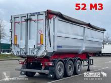Náves Schmitz Cargobull Semitrailer Tipper Steel half pipe body 53m³ korba ojazdený