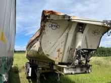Návěs Robuste Kaiser S33 stavební korba havarovaný