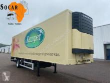 Félpótkocsi Heiwo HZP 22 D használt egyhőmérsékletes hűtőkocsi