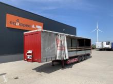 Semitrailer Krone Bordwandsider, BPW+Scheibebremsen, Liftachse, Pallettenkoffer, 2.80m Innenhöhe, NL-Auflieger, APK: 04/2022 skjutbara ridåer (flexibla skjutbara sidoväggar) begagnad