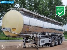 Semitrailer Feldbinder TS 3E ADR / Chemie / 33.250Ltr / 4 comp. tank kemikalier begagnad