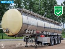 LAG chemical tanker semi-trailer O-3-39 CN ADR / Chemie / 3 comp / 32.500ltr