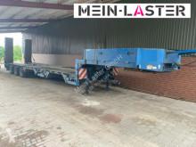 Semirimorchio Langendorf Radmulden Baggerstielmulde lange Rampen NL 35,4t trasporto macchinari usato