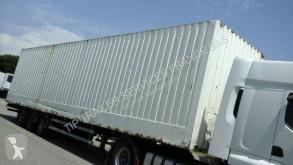 Lecitrailer Clothes transport box semi-trailer FOURGON 3 ESSIEUX MEGA PORTE VETEMENT