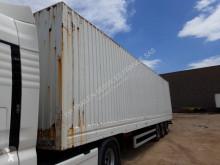 Semirimorchio furgone trasporto capi appesi Lecitrailer FOURGON 3 ESSIEUX MEGA PORTE VETEMENT
