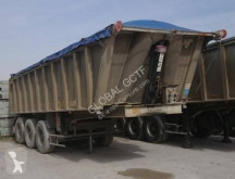 Benalu semi-trailer used construction dump