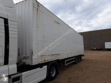 Sættevogn Lecitrailer FOURGON 3 ESSIEUX MEGA PORTE VETEMENT kassevogn tøjtransport brugt