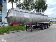 Náves Magyar Fuel RVS Tank, 37703 Liter, 9 Compartments cisterna ojazdený