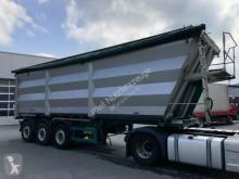 Lück 50 m3 Stahlmulde- Stahlchassis- Lift- ALU- Türen semi-trailer used tipper