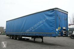 Krone SD, LOW DECK, AXLES BPW semi-trailer used tautliner