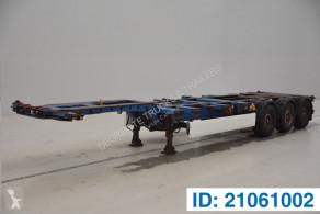 Náves Krone Polyvalent skelet 20-30-40-45 ft na prepravu kontajnerov ojazdený