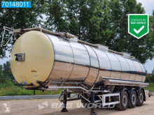 Semi remorque citerne alimentaire Feldbinder TSA 33.3-3 Lebensmittel Isoliert Heizung 1 comp. 32.500 Liter