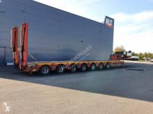 Semi reboque Faymonville 7 essieux extensible ptc 98t porta máquinas usado