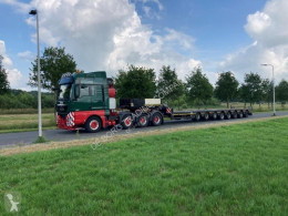 Faymonville heavy equipment transport semi-trailer STNZ-8WA Extendable Semi Low Loader