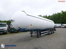 Semi remorque Robine Gas tank steel 50.5 m3 citerne à gaz occasion