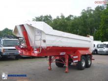 Félpótkocsi Robuste Kaiser Tipper trailer steel 24 m3 használt billenőkocsi
