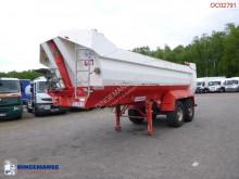 Náves Robuste Kaiser Tipper trailer steel 24 m3 korba ojazdený