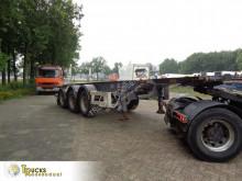 Sættevogn Van Hool + 20FT - 30 FT containervogn brugt
