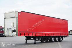 Schmitz Cargobull Varios / FIRANKA / / DACH PODNOSZONY semi-trailer used tautliner