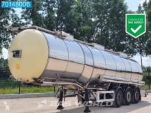 Feldbinder food tanker semi-trailer TSA 33.3-3 Lebensmittel Isoliert Heizung 1 comp. 32.500 Liter