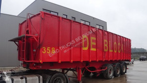 MOL tipper semi-trailer 40 M³ (FREINS TAMBOURS / BELGE)
