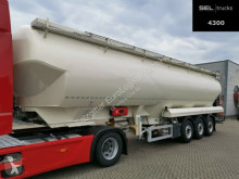 Semi remorque Feldbinder EUT 58.3 /58m3/ 5 Kammern /Alu-Felgen /Liftachse citerne pulvérulent occasion