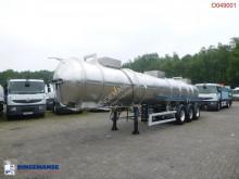Semirremolque cisterna productos químicos Magyar Chemical tank inox 22.5 m3 / 1 comp