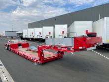 Semitrailer Nooteboom Extra surbaissée extensible EURO 47 maskinbärare ny