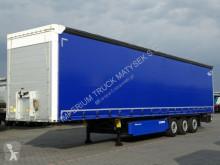 Semi remorque Schmitz Cargobull CURTAINSIDER /STANDARD/ LIFTED AXLE/PALLET BOX savoyarde occasion