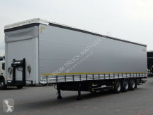 Schwarzmüller CURTAINSIDER / LIFTED ROOF / PALLET BOX / XL COD semi-trailer used tarp