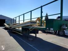 Semiremorca Trouillet 2 essieux platformă transport baloti second-hand