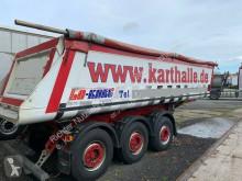 Schmitz Cargobull SKI SKI 24 ALu Kippaufbau mit Stahl Chassis Auflieger gebrauchter Kipper/Mulde