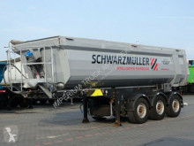 Schwarzmüller TIPPER 28 M3 / WHOLE STEEL /LIFTED AXLE/ semi-trailer used tipper