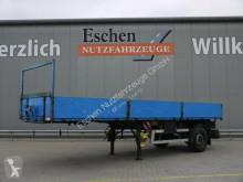 مقطورة Ackermann 1 Achs Pritsche PS-F9/10.6 F/BPA8.2 gelenkt منصة حواجز الحاوية مستعمل