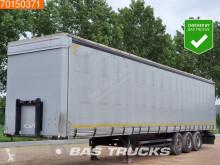 Félpótkocsi Kögel SN24 Liftachse SAF-achse használt függönyponyvaroló