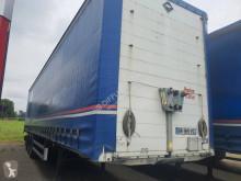 Félpótkocsi Samro használt függönyponyvaroló