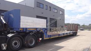 MOL gépszállító félpótkocsi BELGIAN / REMOTE STEERING / EXTENDABLE 16M / HYDR RAMP