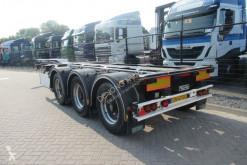 Návěs D-TEC FLEXITRAILER 3x uitschuifbaar / EVT. Huur(koop) nosič kontejnerů použitý